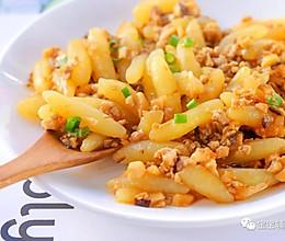 肉末香菇土豆条 宝宝辅食食谱的做法