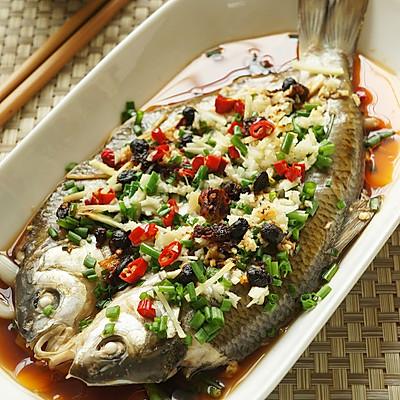 香辣豉油华子鱼