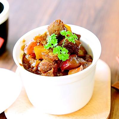 家常菜-红焖羊肉萝卜煲-海鲜酱版