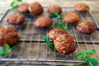 新年零食红枣红糖核桃饼干