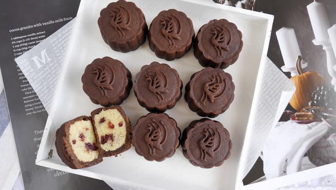 #晒出你的团圆大餐#自制.巧克力月饼