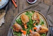 """#""""莓""""好时光日志 蔓越莓鸡翅包饭的做法"""