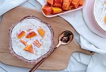 木瓜奶炖燕窝【初味日记】的做法