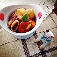 暖冬餐~咖喱牛排骨