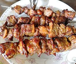 烤牛肉串的做法