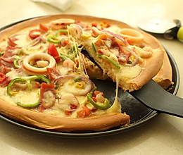 海鲜大狂欢披萨——家庭版(冷藏发酵)的做法