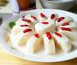 椰香蒸年糕的做法