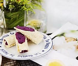 零难度早餐【减脂紫薯卷】的做法