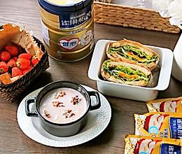 中老年人群15分钟健康早餐食谱#雀巢营养早餐#的做法