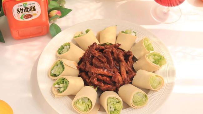 #一勺葱伴侣,成就招牌美味# 京酱肉丝的做法