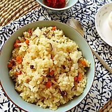 香菇油饭——一款非常好吃的素食炒饭