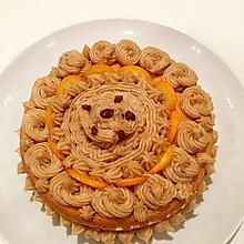 栗子奶油蛋糕