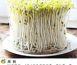 自制绿豆芽的做法