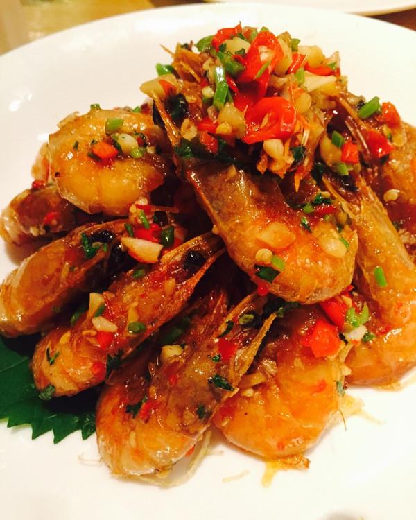 蒜蓉虾的做法