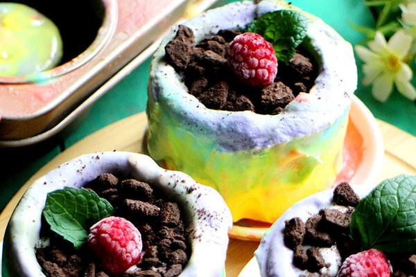 彩虹冰淇淋杯#膳魔师夏日魔法甜品#的做法