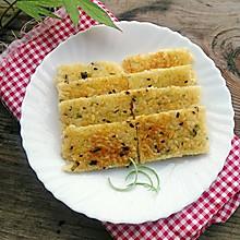 剩米饭的华丽变身——葱香米饭鸡蛋饼