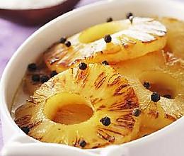 蜂蜜烤菠萝的做法