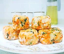 虾仁米饭小方:宝宝辅食营养食谱菜谱一岁的做法