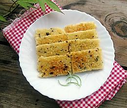 剩米饭的华丽变身——葱香米饭鸡蛋饼的做法