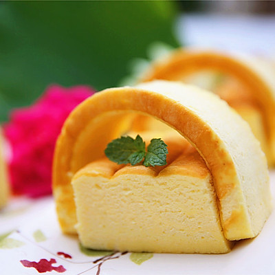能下腰的日式棉花蛋糕