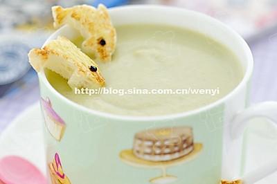 奶油青豆汤
