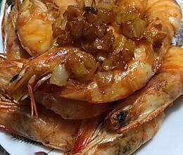 空气炸锅脆皮虾&蒜香烤虾的做法