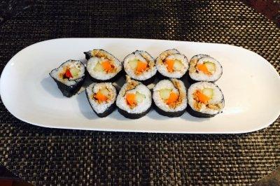 【最好吃简单的肉松寿司】