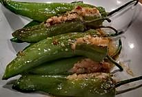 煎酿青椒的做法