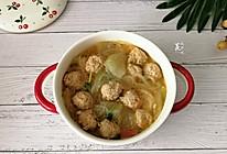 #花10分钟,做一道菜#冬瓜粉丝丸子汤的做法