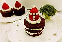 圣诞巧克力杯子海绵蛋糕(无油超软)的做法