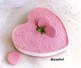 颜值与内涵并存的—樱花奥利奥慕斯蛋糕的做法