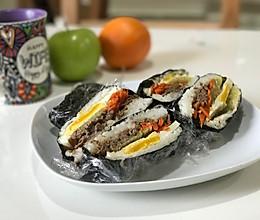 韩式饭团的做法