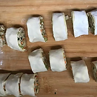 #年味十足的中式面点#山东萝卜丝豆腐卷的做法图解17