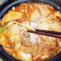 厨房小白做大餐/韩式泡菜火锅的做法图解8