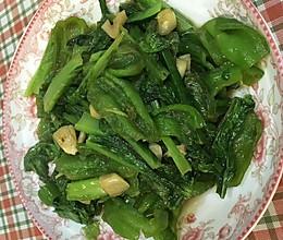 青椒莴苣叶的做法