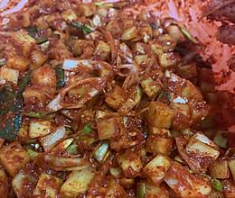 辣萝卜泡菜的做法