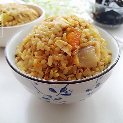 咖喱鸡肉焖饭