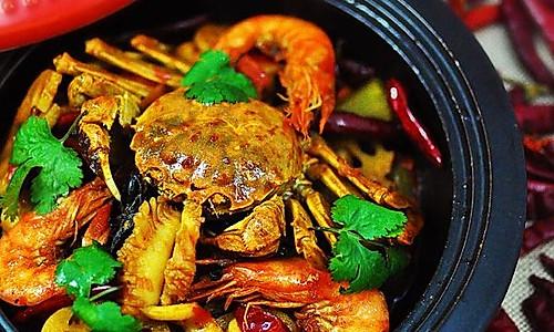 海鲜麻辣香锅的做法