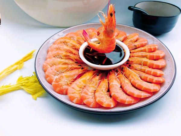 白灼虾的做法