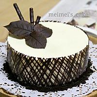 ——超简单慕斯蛋糕【巧克力围边】#九阳烘焙剧场#的做法图解22