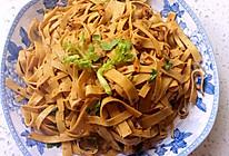 干香豆腐丝的做法