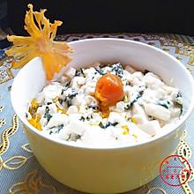 香椿拌豆腐#德国Miji爱心菜#