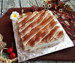 咖啡奶油蛋糕#长帝烘焙节(半月轩)#的做法