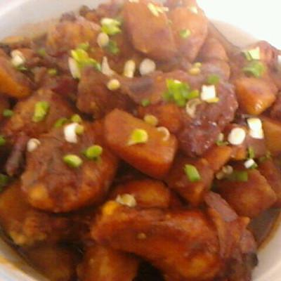 土豆鸡翅根