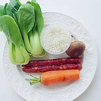 快手晚餐——营养好吃的上海菜饭的做法图解1