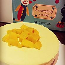芒果冻芝士蛋糕6寸