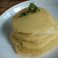香蕉牛奶鸡蛋饼#沃康山茶油#