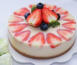 免烤箱草莓蛋糕的做法