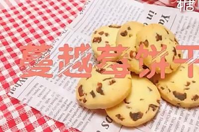 新手零失败低糖版蔓越莓饼干