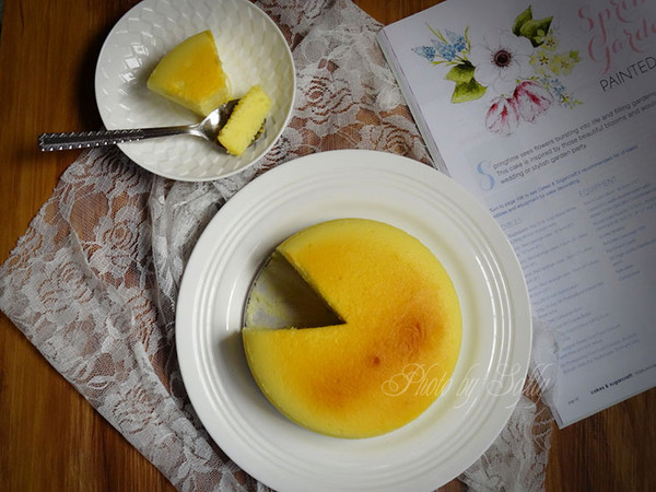 轻乳酪蛋糕(6寸活底模具版)的做法